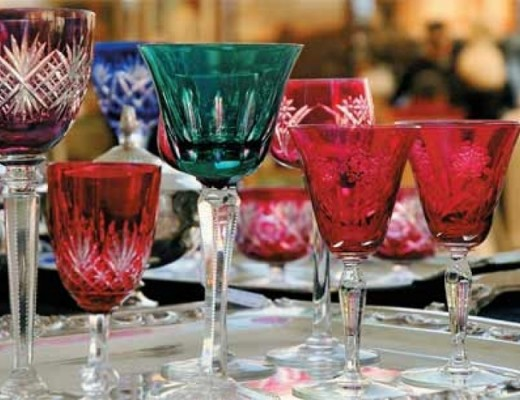 copos de cristal