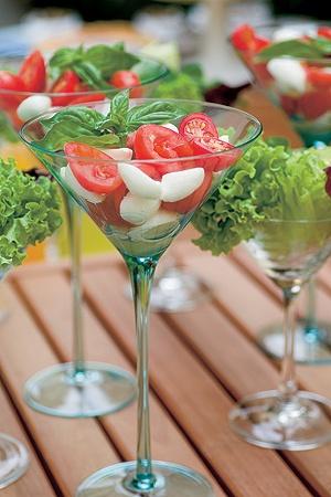 salada em taça