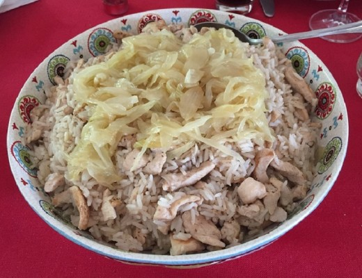 arroz sirio