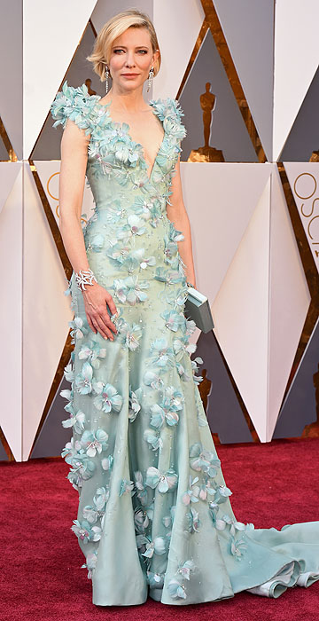 Musa! Cate Blanchett nunca erra e está belíssima vestindo esse Armani Privé