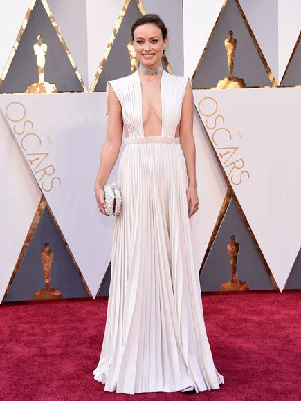 Olivia Wilde DEUSA de Maison Valentino, é a minha preferida!