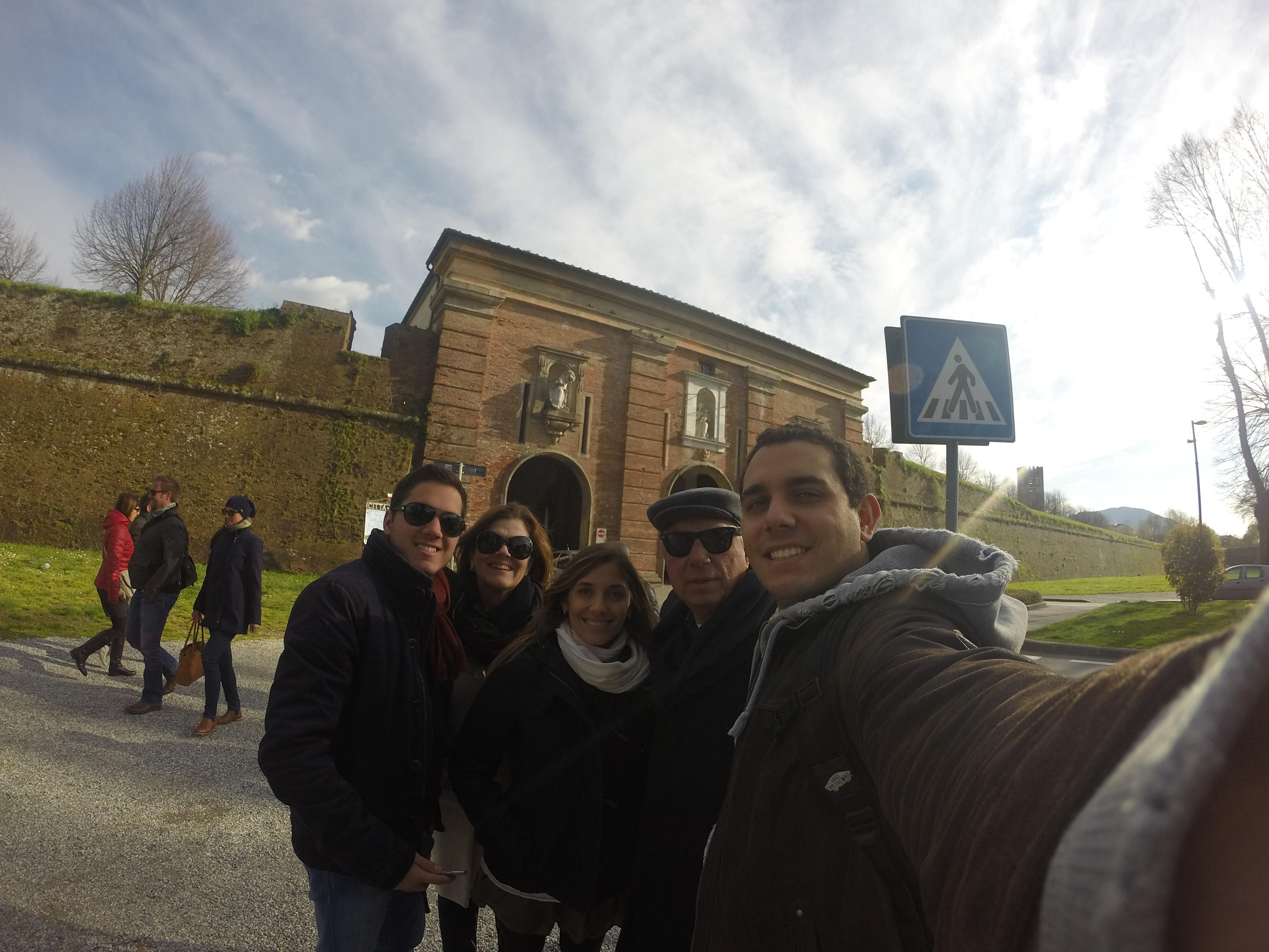Portão de entrada para Lucca