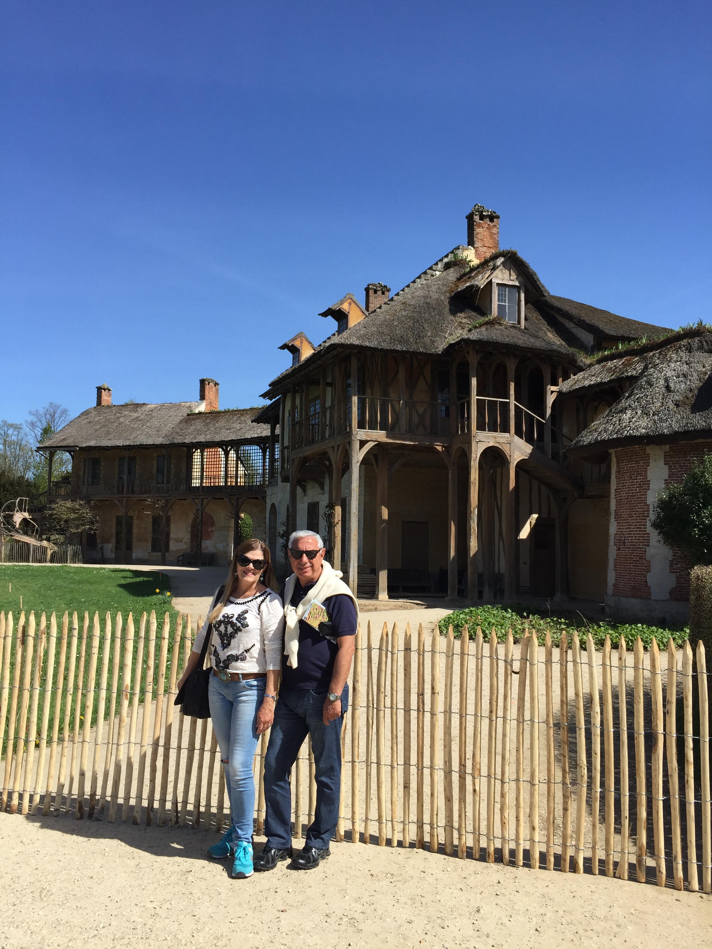 Maison de La Reine, que fica no parque do Petit Trianon