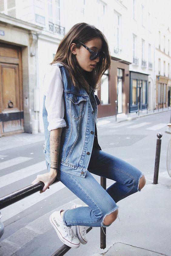 jeans com jeans é total permitido!