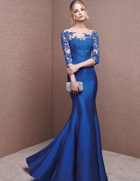 Amo a elegância deste vestido, que emagrece e alonga